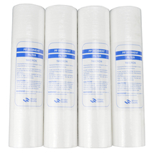 New 4pcs PP Cotton Filter Water Filter  Water Purifier 10 Inch 1 Micron Sediment Water Filter Cartridge System Reverse Osmosis