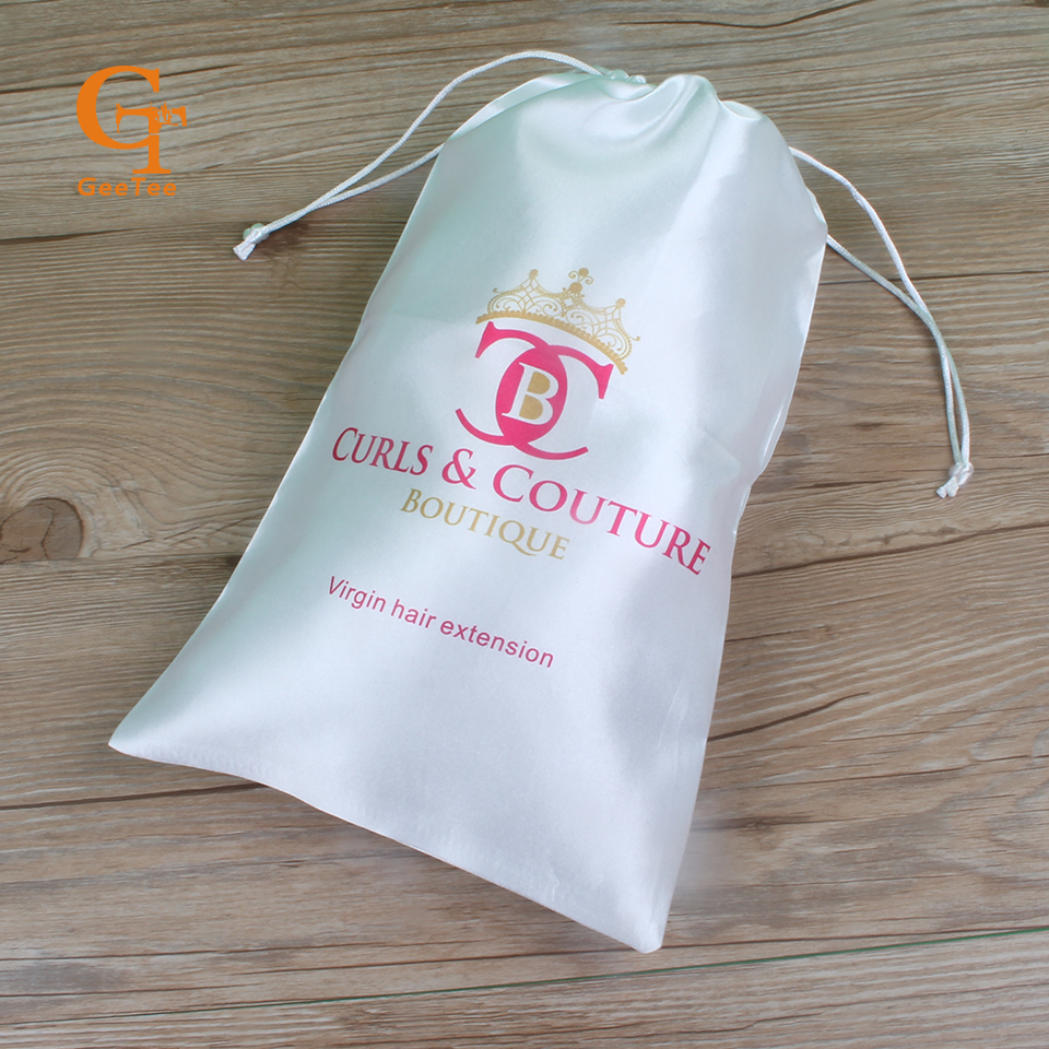 Custom brand logo woven hair extensions packaging satin silk custom brand logo woven hair extensions packaging satin silk luxuary bags personality shop name hair bundles wigs packing bags on aliexpress alibaba pmusecretfo Images