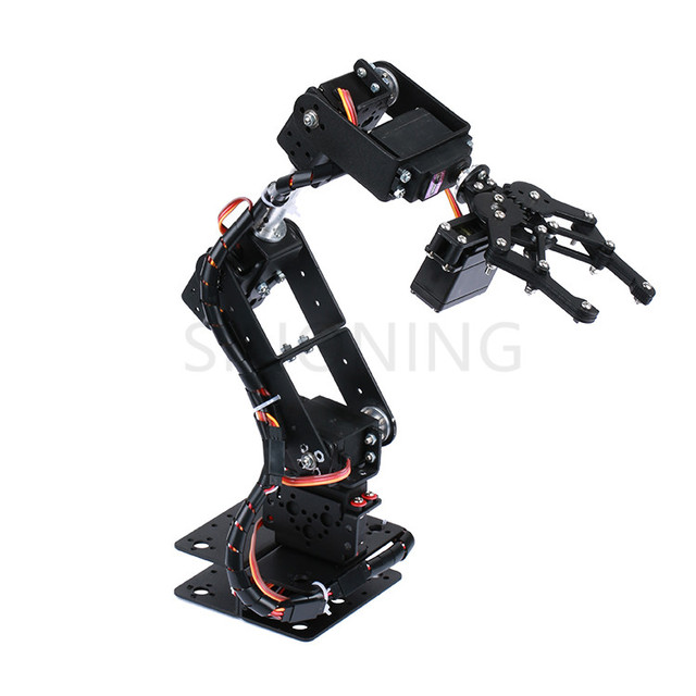 Robot Manipulator Metal Alloy Mechanical Arm Clamp Claw Kit