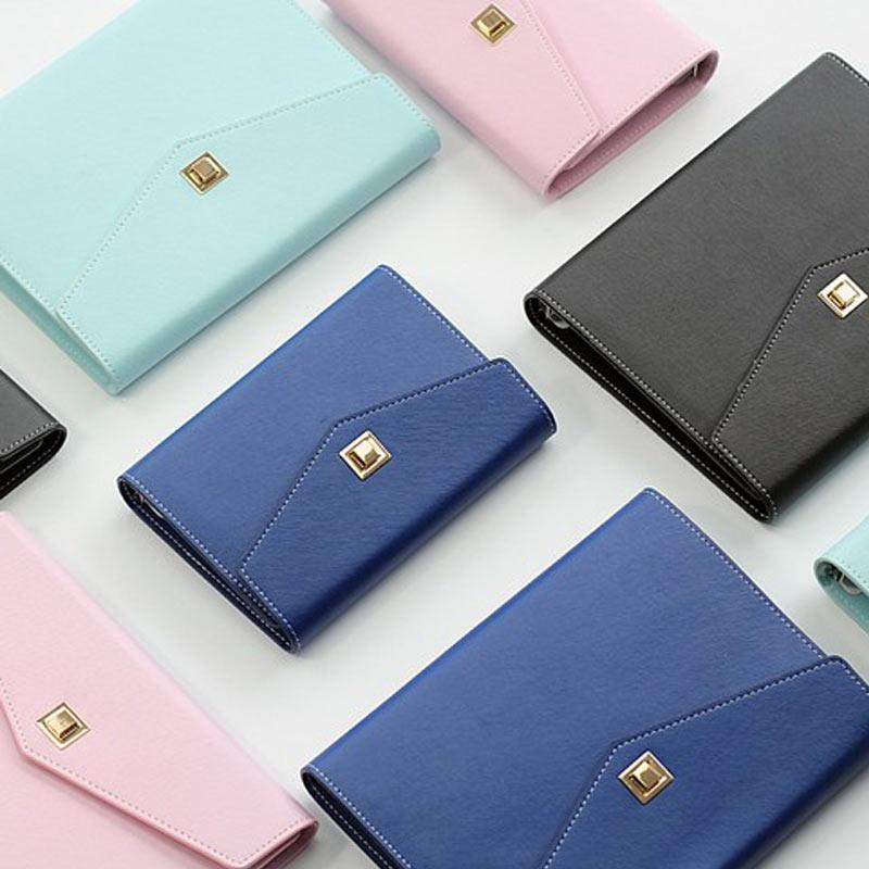 नई क्रिएटिव DIY बैग शैली ढीली पत्ती प्लानर सर्पिल डायरी बुक स्कूल नोटबुक स्टेशनरी