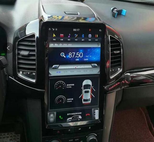 LaiQi 1280 Quadcore DVD плеер автомобиля 800x13,6 Тесла стиль вертикальный экран стерео gps навигации радио для chevrolet captiva