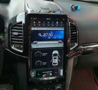 LaiQi 13.6 Quadcore Car DVD player 1280x800 Tesla style vertical Screen Stereo GPS Navigation Radio for chevrolet captiva
