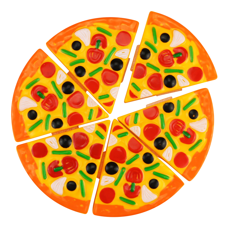 Cutting Pizza Kitchen Toy Plastic Cook Food Pretend Play House Educational Toys Simulation Tableware Gift For Baby Kids Children