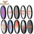 KnightX FLD УФ CPL Звезда цвет н. д. CLOSE UP lens Filter для Canon Nikon sony 600d 100d d5300 d3100 700d t5i t3i T5 52 мм 58 мм 67 мм
