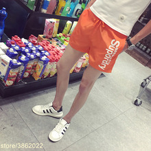 New Summer mens shorts Calf-Length Fitness Bodybuilding fashion Casual gyms Joggers workout Brand short pants Shorts pour hommes