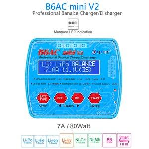 Image 2 - HTRCแบตเตอรี่Charger IMAX B6AC MINI V2 80W 7AดิจิตอลRC BALANCE Lipo Lihv LiIon Life NiCd NiMHแบตเตอรี่Discharger