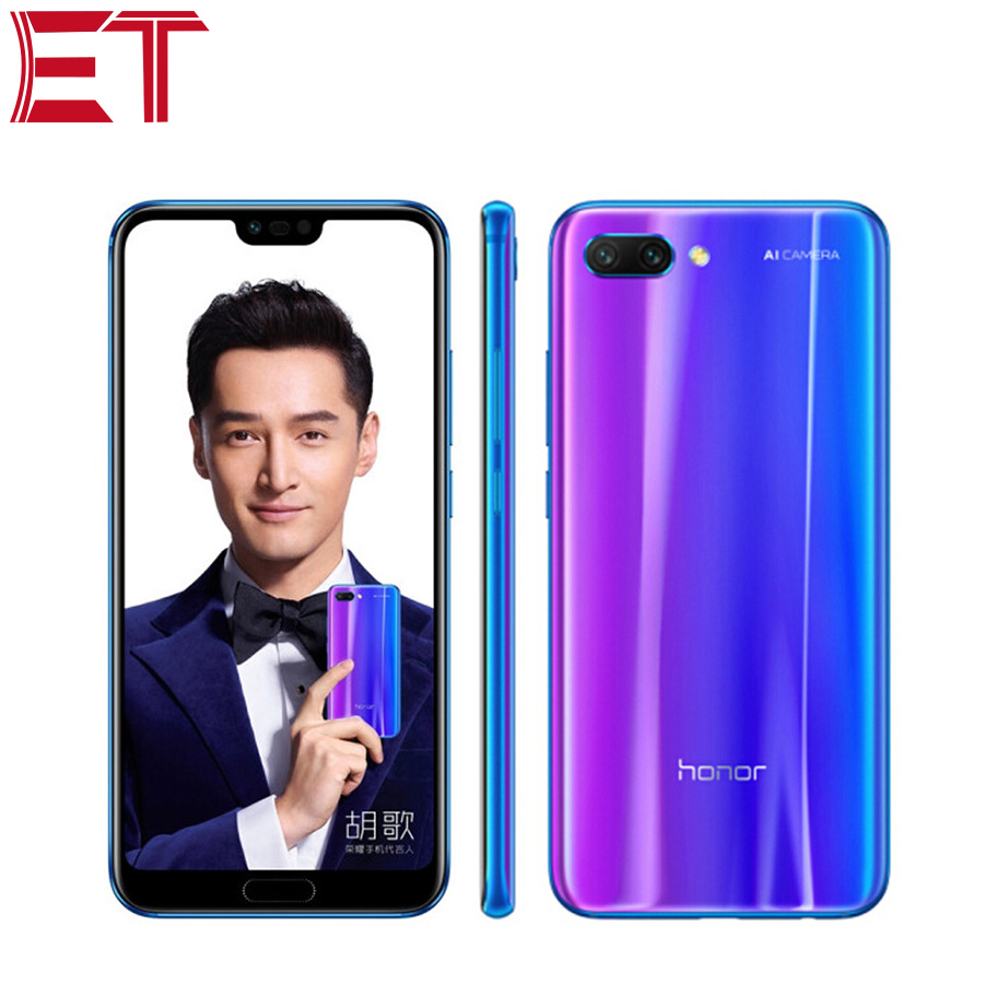 Global Rom Brand New Honor 10 Mobile Phone 5 84 4GB RAM 128GB ROM Kirin 970