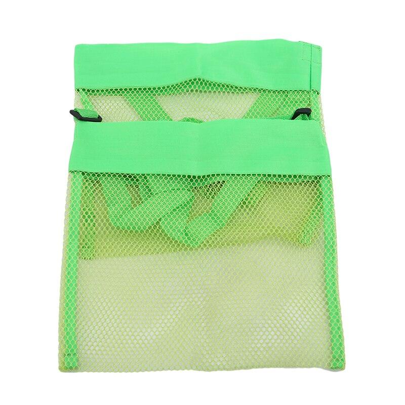 Fashion Beach Mesh Bag Pouch Kid/'s Children/'s Fun Toys Sea Shell Storage Bag
