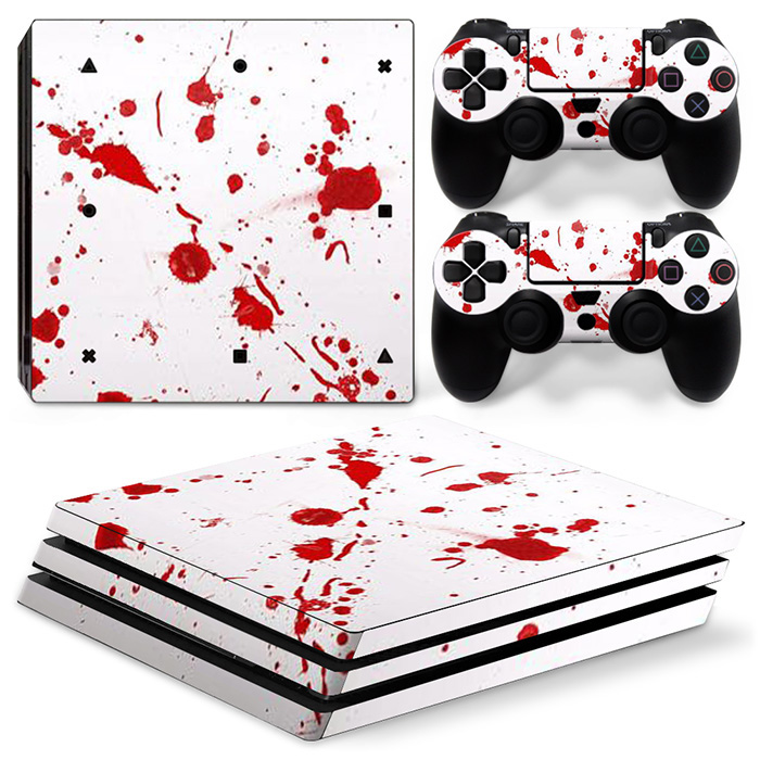 free drop shipping 2017 Hot Selling Vinyl Decal Cover Skin Sticker for PS4 Pro Stickers #TN-P4Pro-0879
