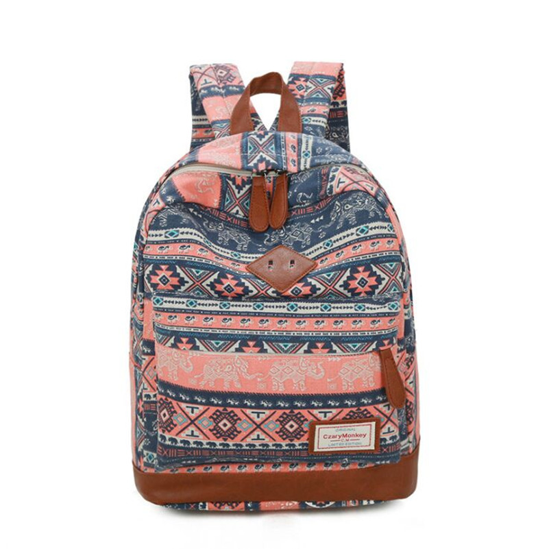 Canvas Female Backpack Women Travel Bagpack Preppy Style School Bags for Teenage Girls and Boys School Backpack mochila feminina children school bag minecraft cartoon backpack pupils printing school bags hot game backpacks for boys and girls mochila escolar