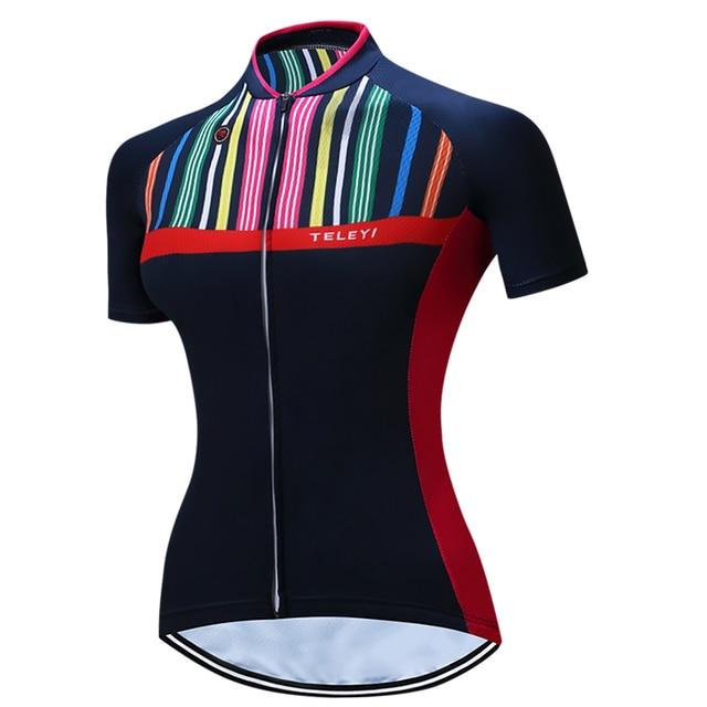 1a3f53c2b Pro Race Cut Women s Bicycle Jersey Female Riding Bike Jerseys Road Track  Aero Cycling Breathable Race Cut Short Sleeve Summer