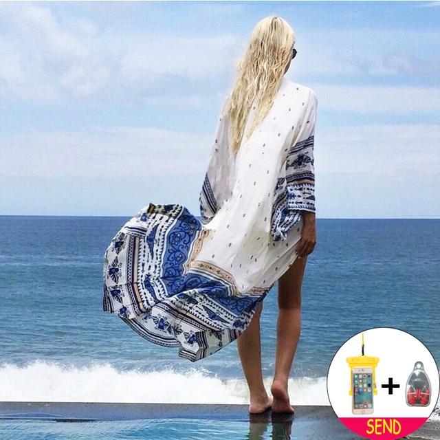63320da074 Best Price Bikini Cover Up Beach Dress Tunic Swimsuit Beach Dress May Women  Fused 2018 Ladies
