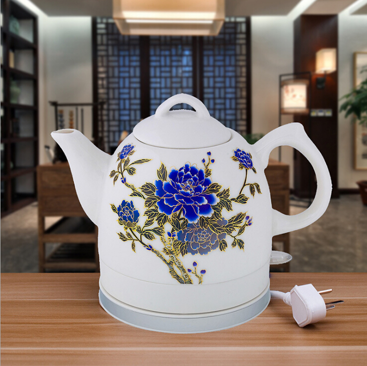 Electric kettle 304 food grade stainless steel automatic power blackouts home cooking kettle teapot heating color electric kettl