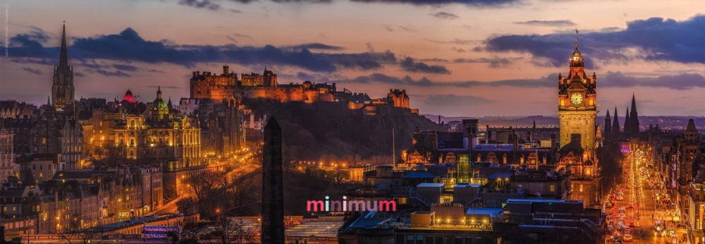 Edinburgh Panorama 5D DIY Diamond Painting City Night View Cross Stitch Diamond Mosaic Pictures