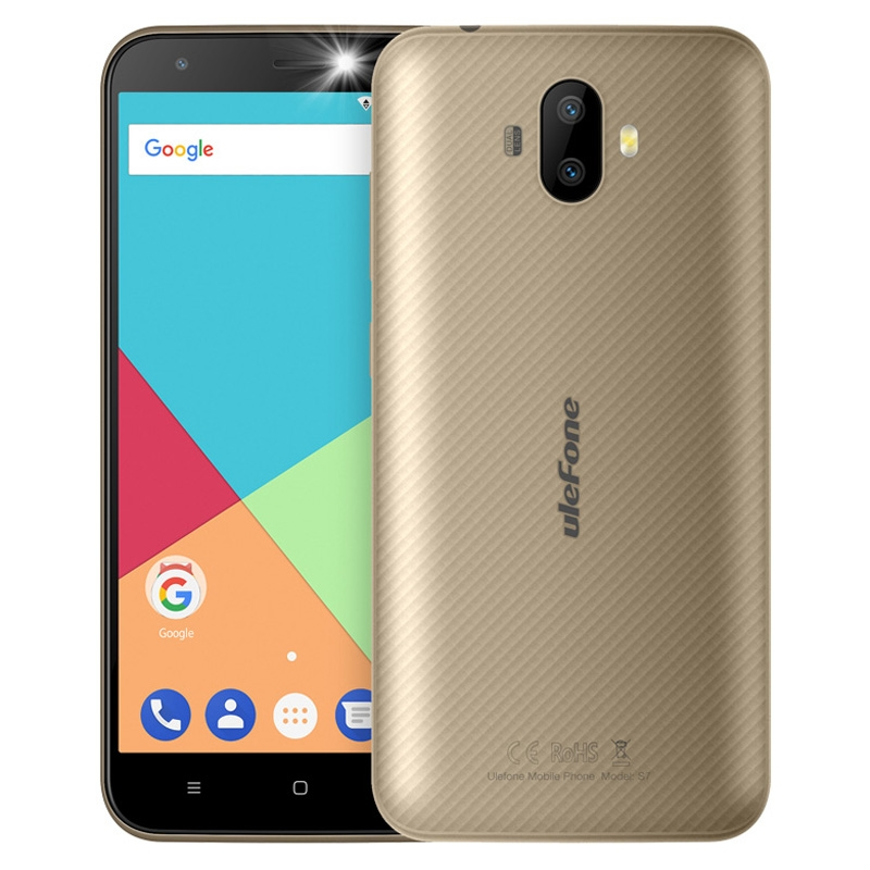 Ulefone S7 Pro 3G Mobile Phone 5 0 Inch HD MTK6580 Quad Core Android 7 0