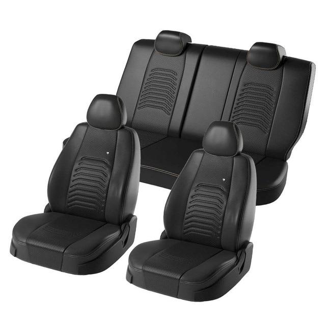 Для Renault Каптур 2016-2019 специальные чехлы на сиденья полный комплект модель Денвер эко-кожа