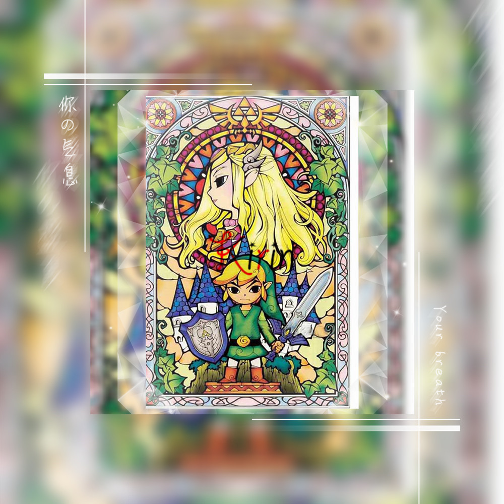 The <font><b>Legend</b></font> <font><b>Of</b></font> <font><b>Zelda</b></font> Breath home decor Embroidery Pattern <font><b>diamond</b></font> 5D DIY <font><b>paintings</b></font> 3D Cross stitch image