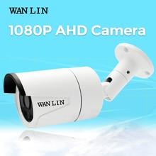 Wanlin 2MP 1080 P Sony IMX323 AHD камера видеонаблюдения Водонепроницаемая камера видеонаблюдения 3 шт. Массив LED 40 м ночного видения