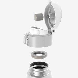 Image 3 - Xiaomi Mijia VIOMI termo Original de acero inoxidable al vacío, botella inteligente, 24 horas, termo de agua, una sola mano, cierre