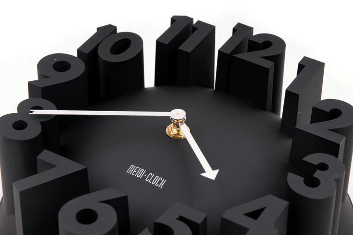 Popular wall clock black buy cheap wall clock black lots for Decoration murale papillon 3d noir