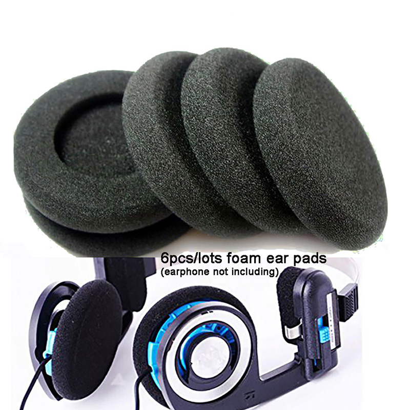 Hot Selling 6pcs/lots Replacement Earphone Ear Pads Earpads Sponge Soft Foam Cushion For Koss For Porta Pro PP PX100 Headphones