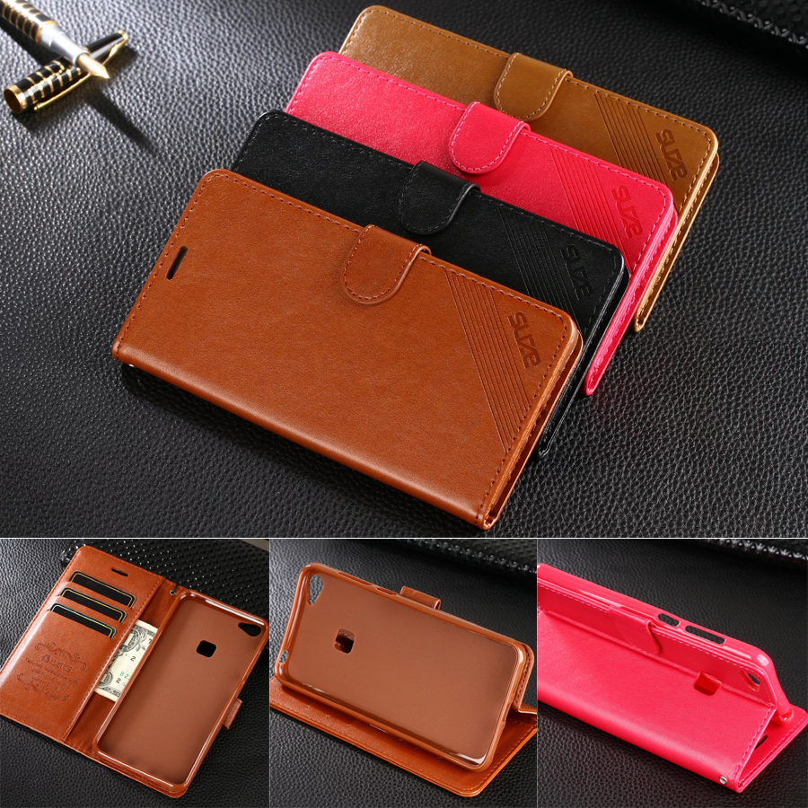 AZNS Case For BBK Vivo X6 5.2 AZNS Wallet Leather Case Stand Flip Card Hold Phone Cover Bags For Vivo X6