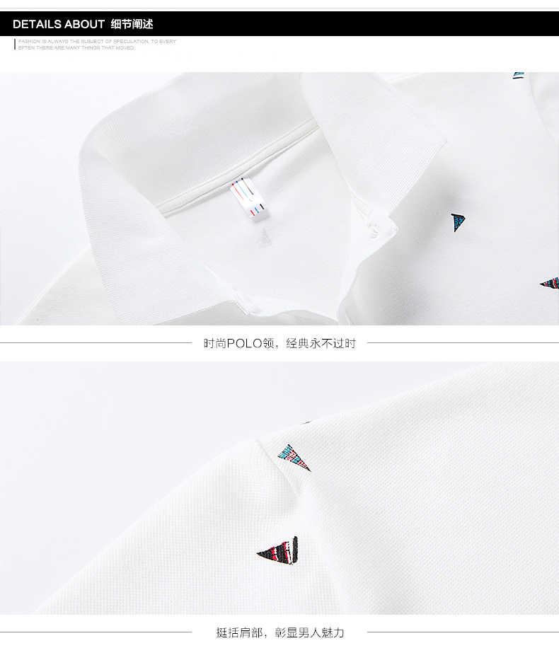 男性のカジュアルラペルプリントゴルフシャツポロシャツ-グレー、白、青、黒-M L XL 2XL 3XL