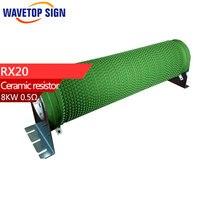 RX20 High Power Ripple Starting Resistive Load Braking Resistor 8KW 0 5R 1R 2R 3R 4R