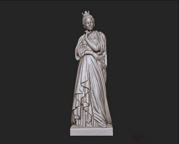 New 3D model relief stl format for CNC Circular engravure Princess Margaret STL martyrs faith hope and love and their mother sophia 3d model relief figure stl format religion for cnc in stl file format