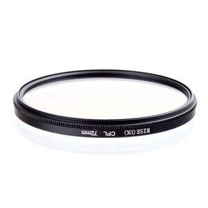Image 2 - AUMENTO 72 millimetri di Polarizzazione Circolare CPL C PL Lens Filter 72 millimetri Per Canon NIKON Sony Olympus