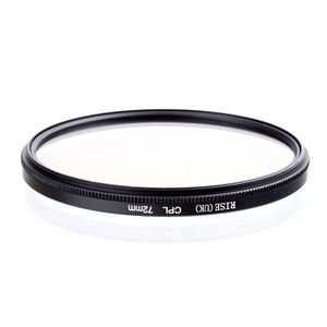 Image 2 - RISE 72mm Circular Polarizing CPL C PL Filter Lens 72mm For Canon NIKON Sony Olympus Camera