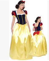 FREE SHIPPING Adult Snow White Princess New Fancy Dress Costume Ladies Female 8051