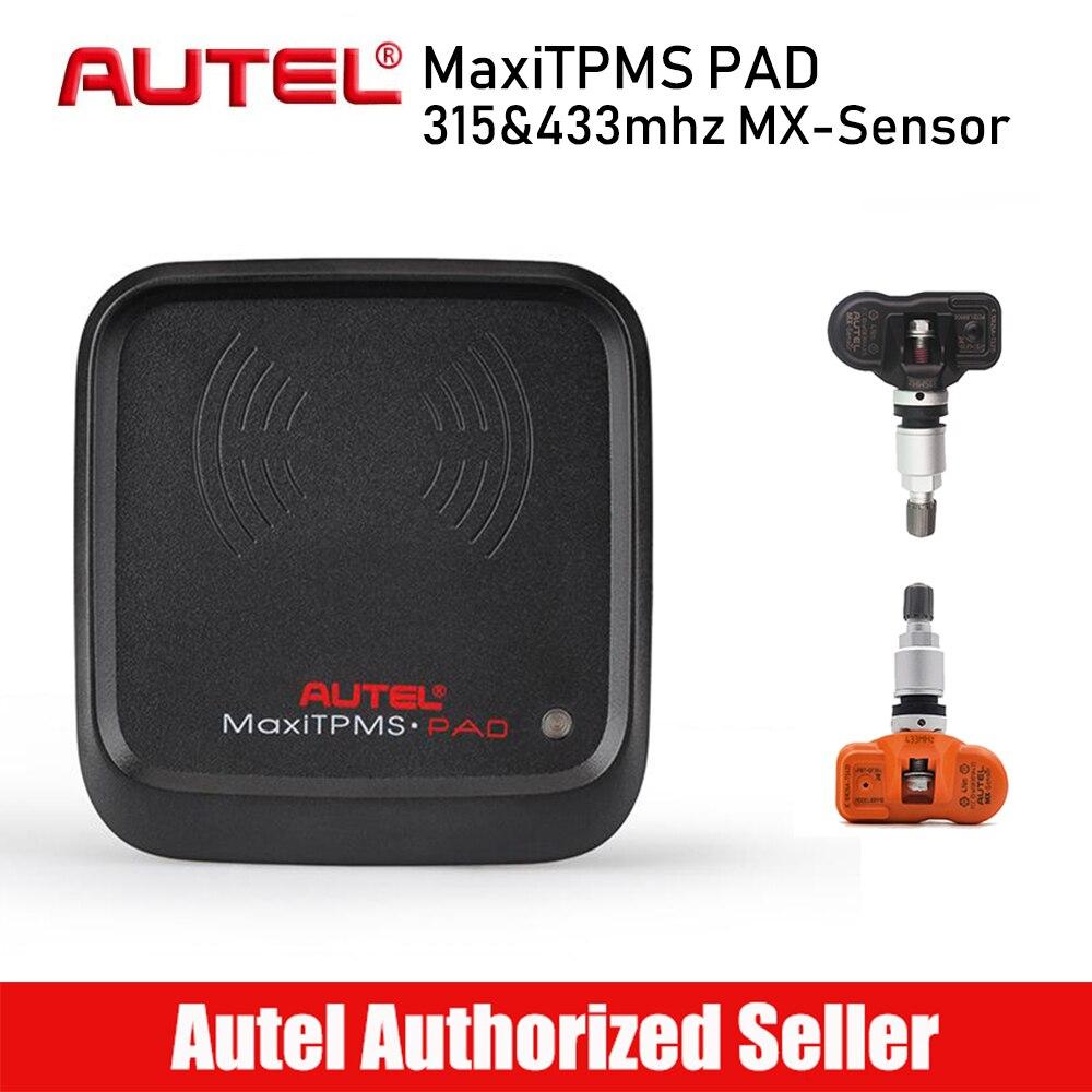 Original Autel MaxiTPMS PAD TPMS Programmer Tire Pressure Sensor MX Sensor 433MHz 315MHz TPMS Activation Tools цена