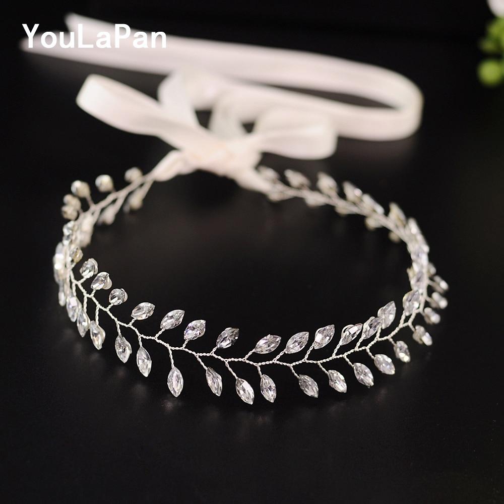 YouLaPan HP48-S Wedding Headdress Tiara Girlfriend Hair Accessories For Weddings Hair Jewelry Wedding Fascinators And Headwears