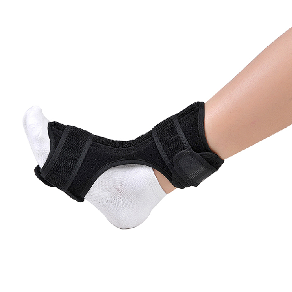 High Quality Foot Drop Orthosis Nightime Brace Aluminum Splint Plantar Fasciitis Ankle Sprain Achilles Tendinitis hand wrist orthosis separate finger flex spasm extension board splint apoplexy hemiplegia right left men women