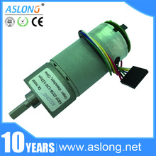 цена на JGB37-555B 6v~24v High torque DC gear motor with high precision encoder Speed encoder motor General 12V 640RPM