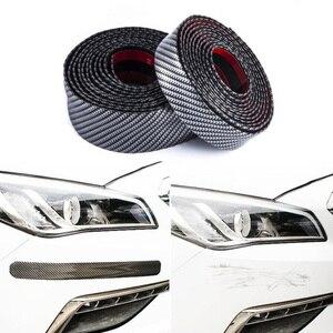 1M Car Bumper Lip Stickers Car Front Bumper Lip Rubber Car Bumper Protectors Exterior Mouldings Bumper Lip Strip 30mm Width