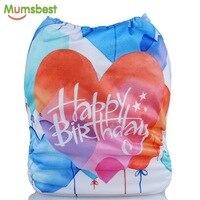 [Mumsbest] детские подгузники для дня рождения, позиционируемые цифровые тканевые подгузники, детские моющиеся подгузники, подарок на день рожд...