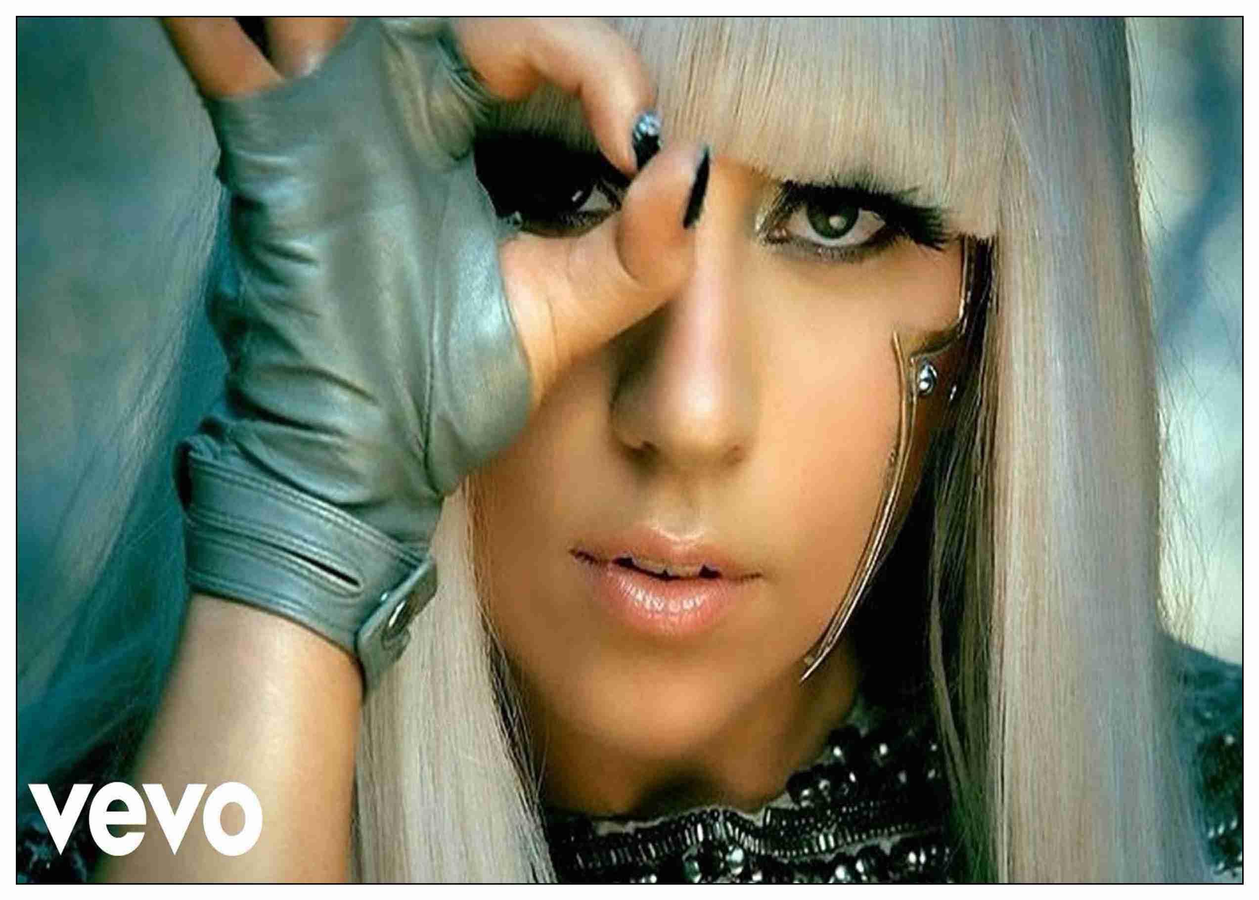 "Lady Gaga Rap Music Singer Star Art Wall Fabirc Poster 30/""x24/""  L050"