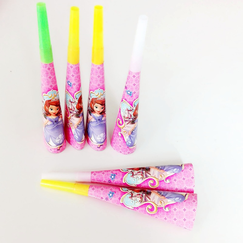 6pcspack Princess sofia party decoration Favorsbaby favor birthday Party Supplies cool party toys eventparty decoration 09