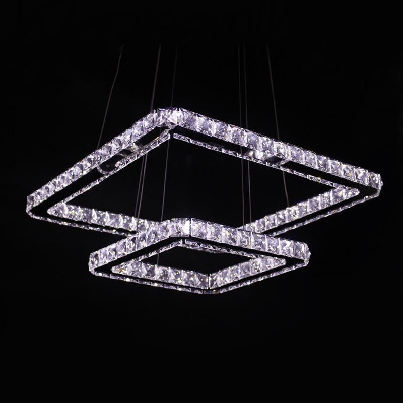 Ecolight Modern Led Pendant Light Square Rings 50+30cm ...