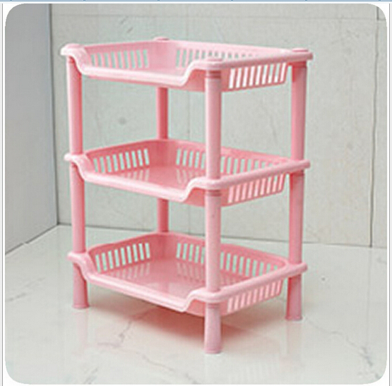 Free Shipping Creative Desktop Storage Rack Three Layers Of Plastic To Small  Office Type Rack Storage Storage Rack In Storage Holders U0026 Racks From Home  ...