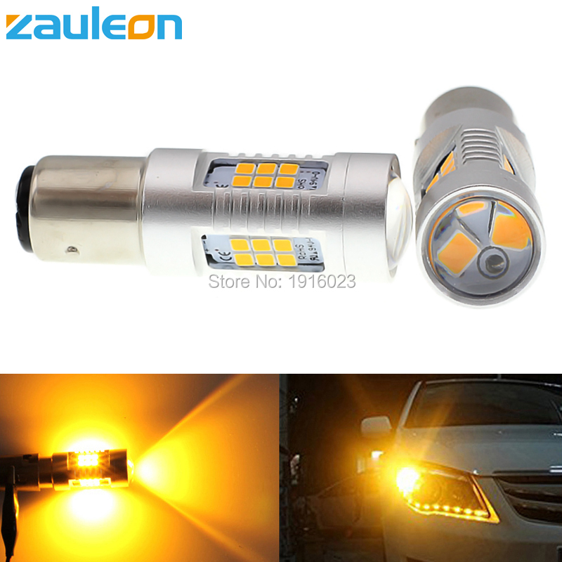 Zauleon 2pcs 1156 1157 P21W P21/5W 805 lumens LED Turn Signal Light BAU15S PY21W Yellow Amber LED Parking Lamp Car-Styling bestdvr 805 light net в москве