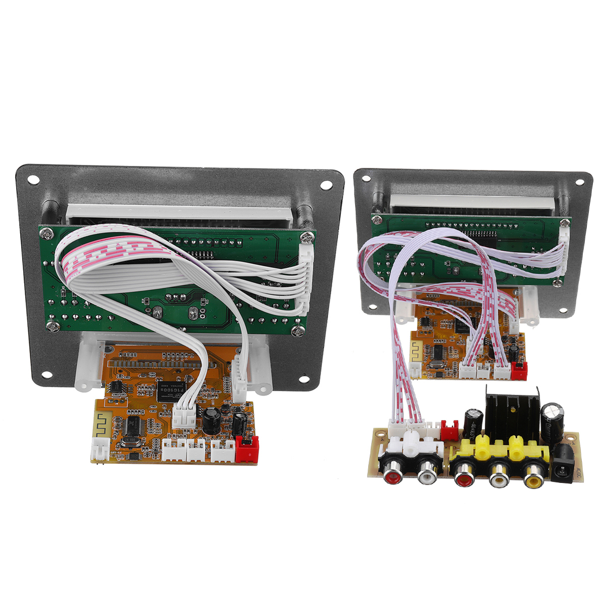 Audio HD RM / RMVB/ MP4/ WMV Video Decoder Bluetooth Receiver Lossless WAV/AC3/OGG/ACC/WMA/MP3 decoder SD card USB decode play