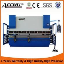 cnc hydraulic press brake , E200P stainless sheet sheet metal benders cnc press brake bending machine