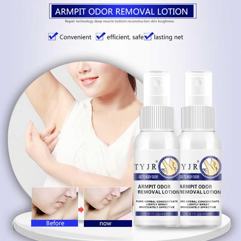 Déodorant nettoyant anti-transpirant liquide de pulvérisation d'aisselles élimine les aisselles Hircismus soin du corps odeur sueur déodorant élimination des aisselles