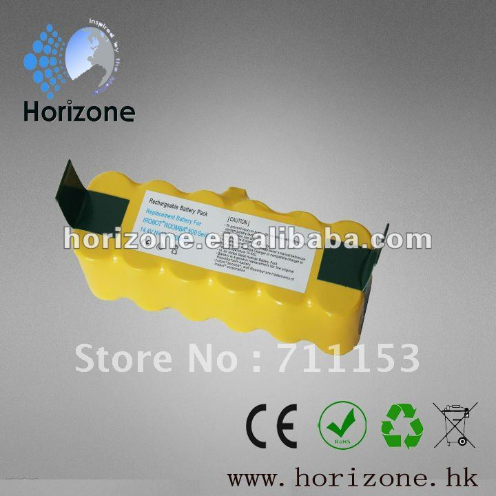 4500mAh Replacement Battery for iRobot Roomba 500 600 700 Series Roomba battery