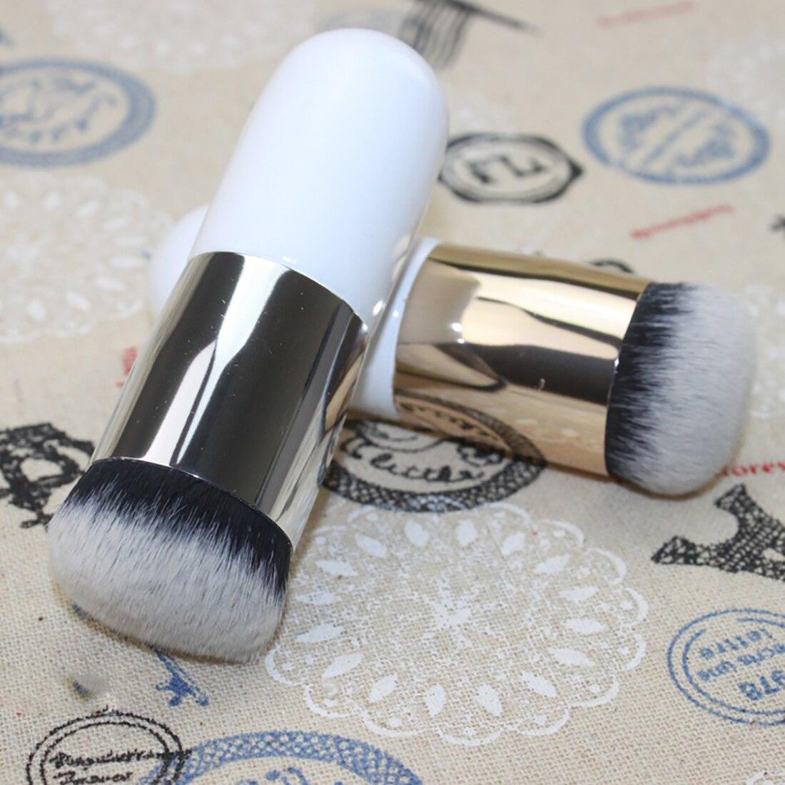 Пухлые Pier фундамент кисть плоская портативный BB крем кисти для макияжа Профессиональные Красота Инструменты Бесплатная доставка