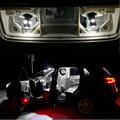5pcs Canbus LED Reading Lights+Rear Bulbs+Trunk Interior Light Lamp Kit Package For Skoda Yeti Car Stying