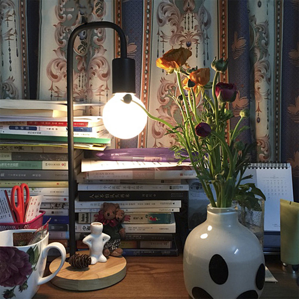 1 шт. E27 40 Вт деревянная основа для настольной лампы, настольные лампы, освещение для учебы, защита глаз, штепсельная вилка США, домашние настольные лампы, настольная лампа для чтения